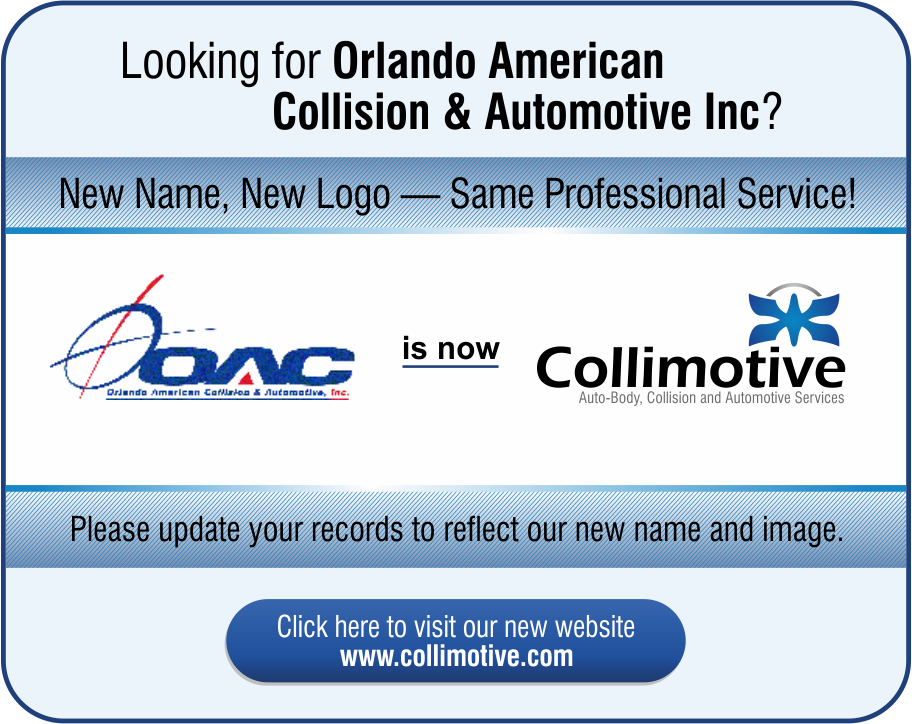 Orlando American Collision & Automative Inc is now Collimotive